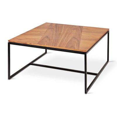 Tobias Square Walnut Coffee Table by Gus* Modern