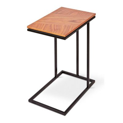 Tobias Walnut Nesting Table by Gus* Modern