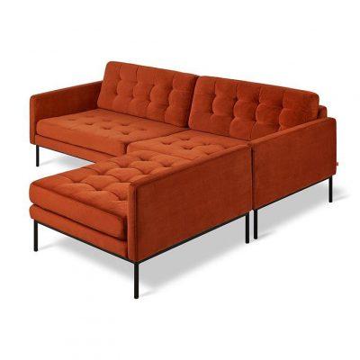 Towne Bi-Sectional Sofa by Gus* Modern