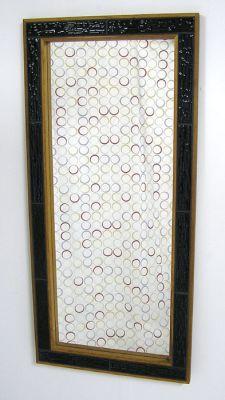 Oak & Tile Wall Mirror *Denmark*