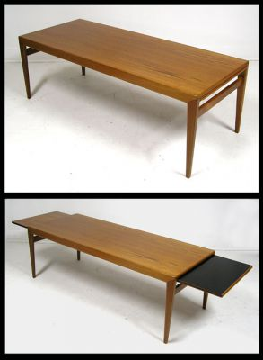 1960s Teak Coffee Table w/Extensions *Johannes Andersen*