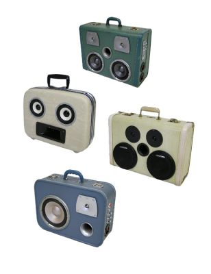 "Unique Portable Suitcase Stereos By ""Sounds Vintage"""