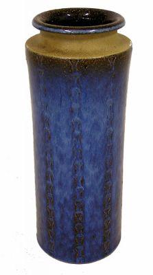 "1960s Danish ""Soholm"" Pottery Vase *Maria Philippi*"
