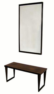 1960s Rosewood Bench & Mirror *Kai Kristiansen*