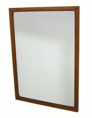 1960s Danish Teak Mirror *Aksel Kjersgaard*