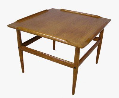 1960/70s Square Teak Side Table