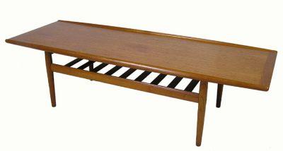 1960s Danish Teak Coffee Table *Grete Jalk*
