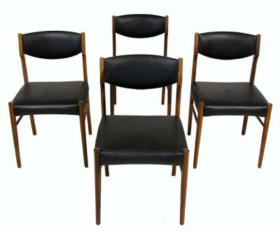 1960s Danish Rosewood Dining Chairs *Set Of 4*