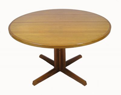 1960/70s Round Teak Dining Table *Niels O. Moller*