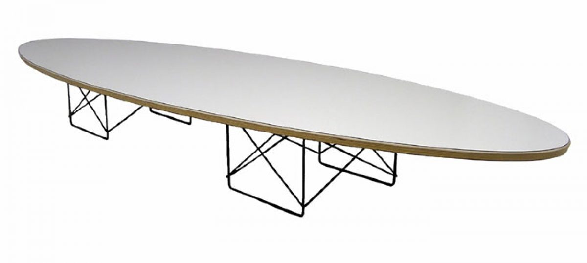 Eames Elliptical Coffee Table Herman Miller Hoopers Modern