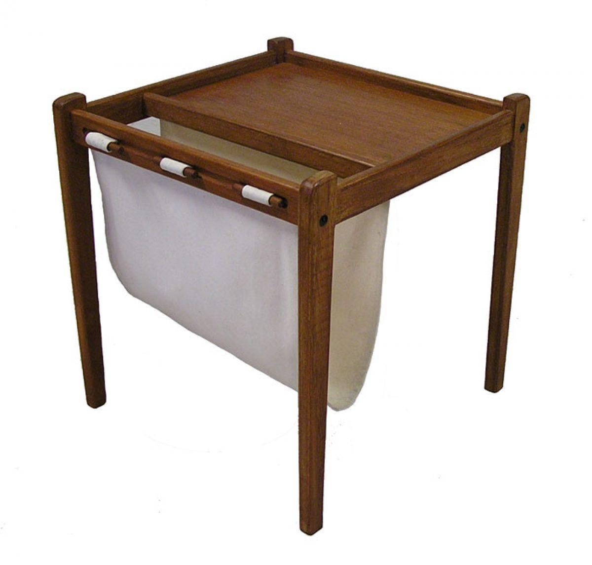 1960s Danish Teak Magazine Table Hoopers Modern
