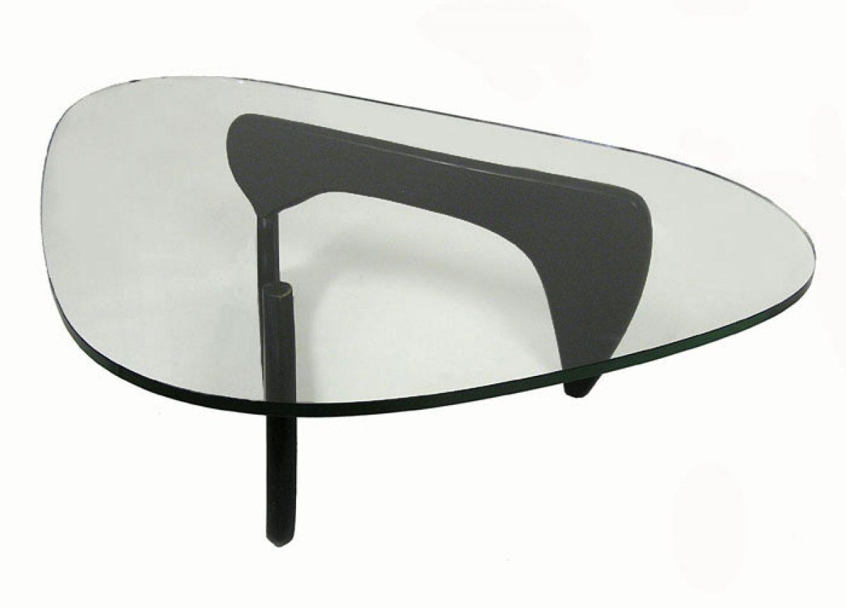 Noguchi Style Glass Coffee Table – Hoopers Modern