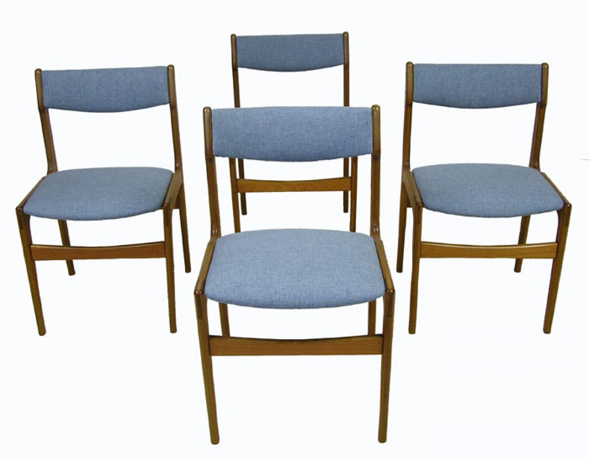 1970s Danish Teak Dining Chairs Set Of 4 Hoopers Modern