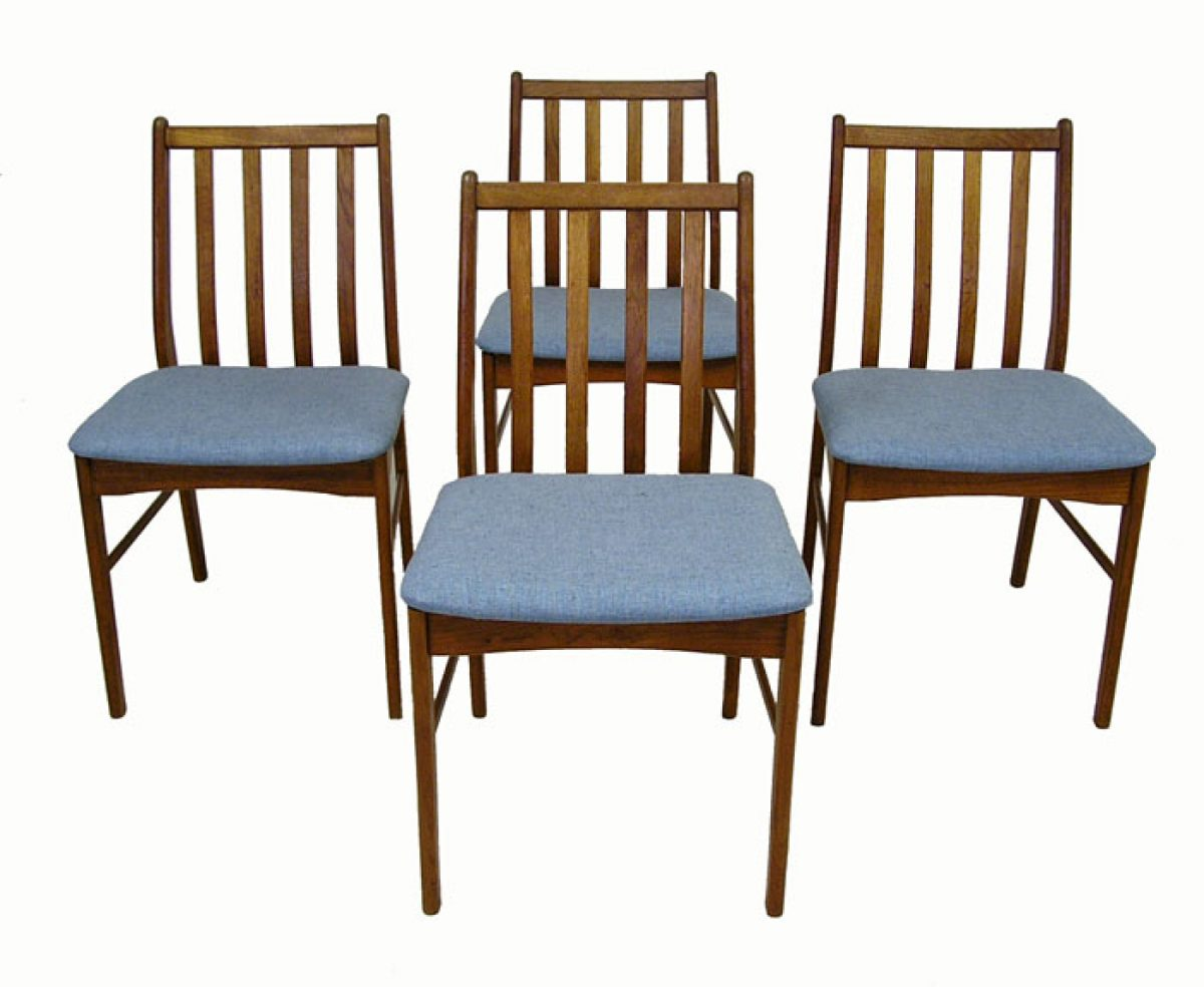 1960s Danish Teak Dining Chairs Set Of 4 Hoopers Modern