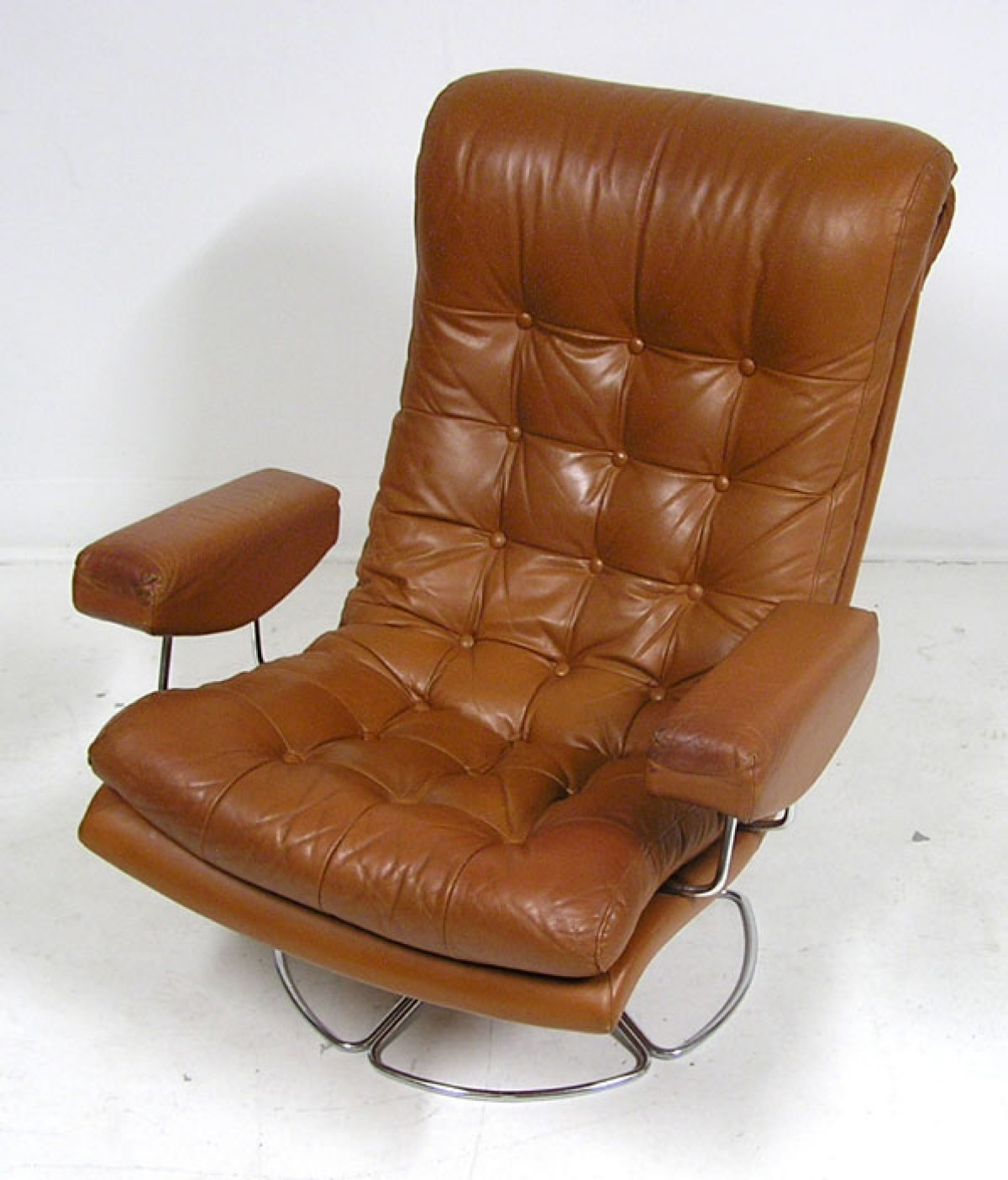 1960 70s Swivel Lounge Chair Denmark Hoopers Modern