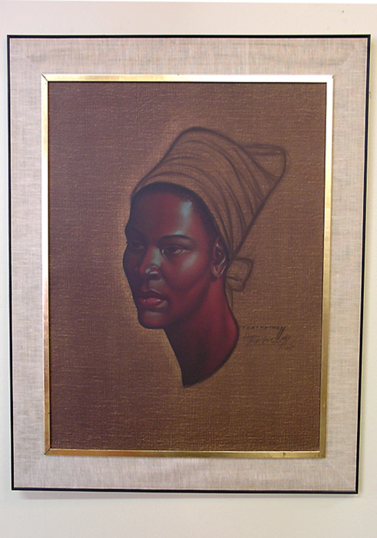 1960 S Quot Zulu Maiden Quot Tretchikoff Print Signed Hoopers