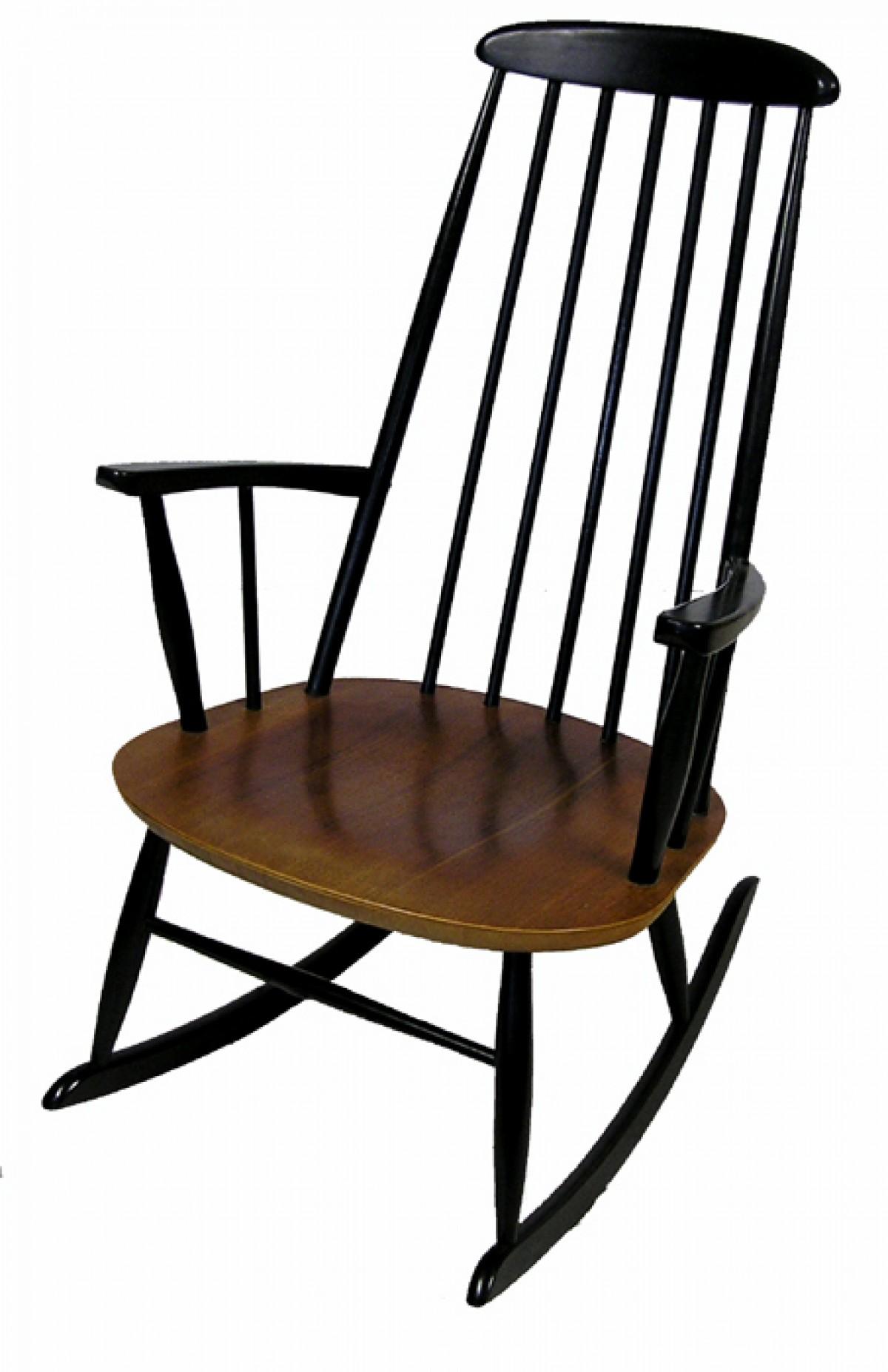 1960s Quot Ilmari Tapiovaara Quot Rocking Chair Hoopers Modern